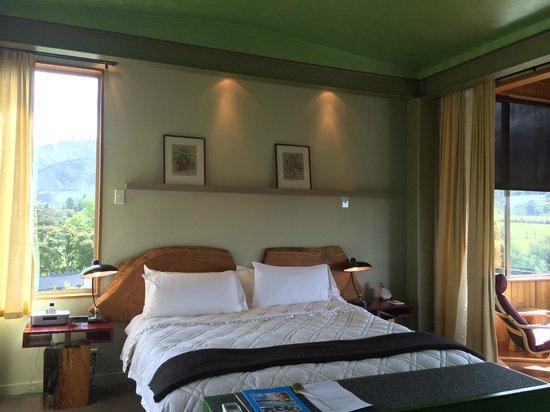 Hapuku Lodge: Bedroom