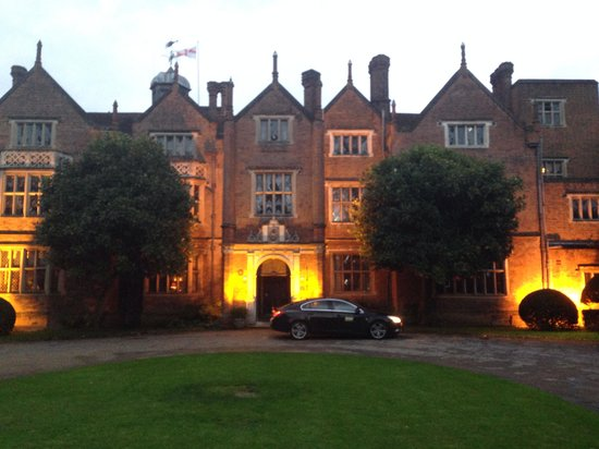 Afternoon Tea at Great Fosters: Evening outside