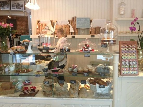 Four & Twenty: Our pastry counter of freshly prepared confectionary and pattisserie items