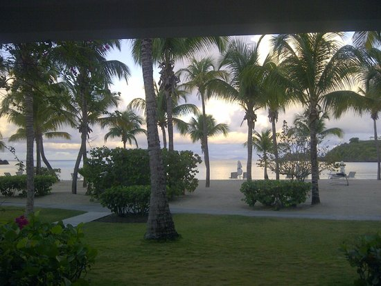 Carlisle Bay Antigua : Sunrise from my room