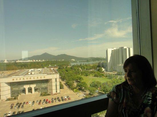Lakeview Xuanwu Hotel: Vista desde la habitación