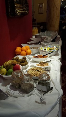 Clanree Hotel : Breakfast at clanree