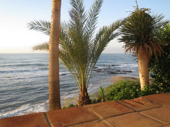 El Oceano Beach Hotel: View from a table in the restaurant