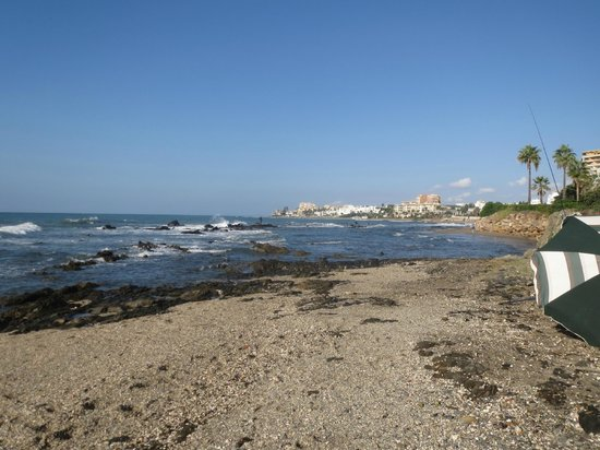 El Oceano Beach Hotel: The beach