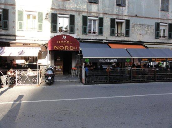 Hotel du Nord : Façade de l'hôtel