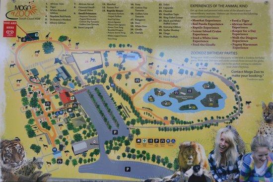 Map of Mogo Zoo  Picture of Mogo Zoo Mogo  TripAdvisor