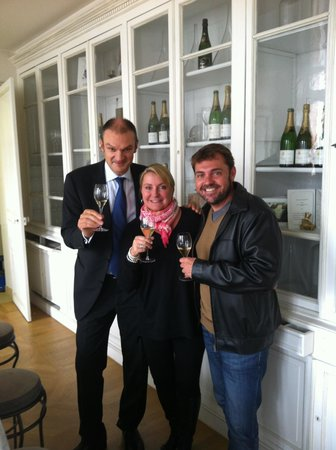 Hôtel Jean Moët : Thank you from Terry & Flossy