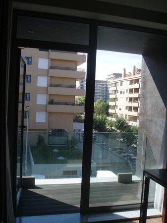 Eurostars Oporto: Balcón y vistas