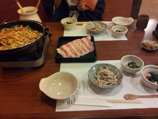 Sengokuhara Shinanoki Ichinoyu: dinner