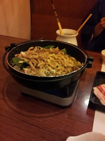 Sengokuhara Shinanoki Ichinoyu: dinner hotpot