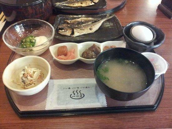Sengokuhara Shinanoki Ichinoyu: breakfast