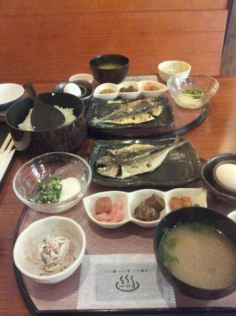 Sengokuhara Shinanoki Ichinoyu: food