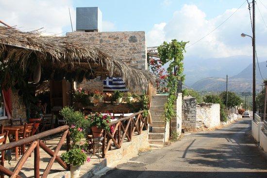 Family Taverna: Located In A Tiny Mountain Village