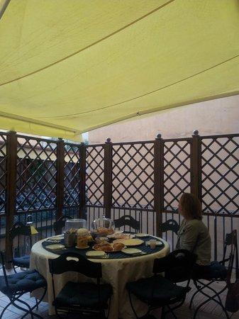 Relais Roma Centro : Zona de desayuno