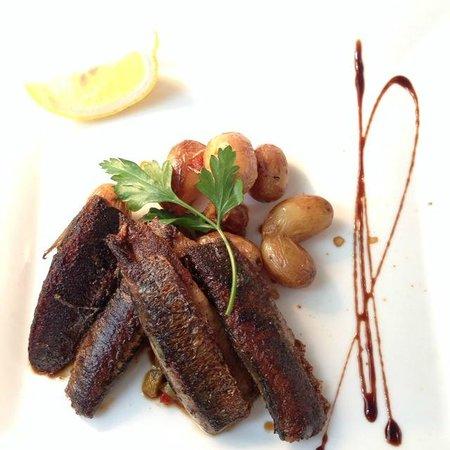Restaurant Le Skipper : sardines (en  boite) grillées