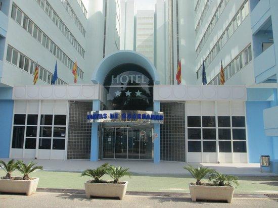 Hotel Playas de Guardamar: Front of Hotel