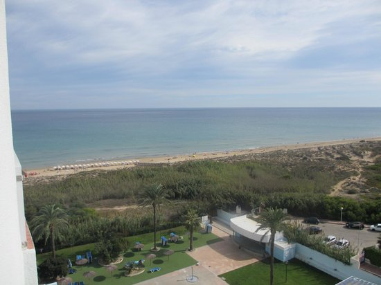 Hotel Playas de Guardamar: View from our room
