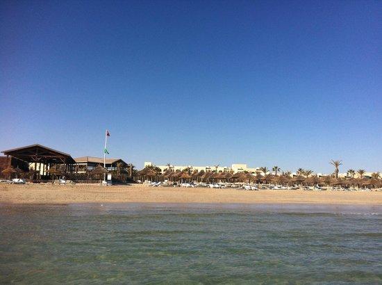 Hasdrubal Thalassa & Spa Djerba : View of the beach.