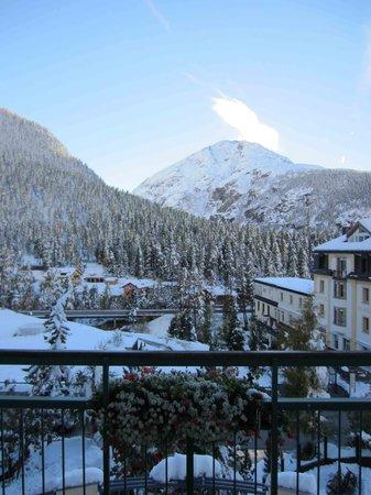 Hotel Walther: Aussicht nach Süden