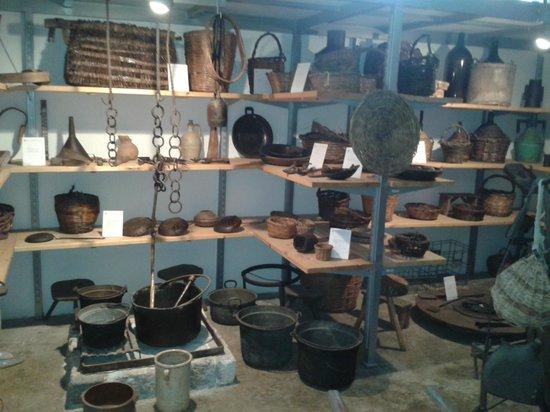 Siponto, Italie : museo etnografico sipontino