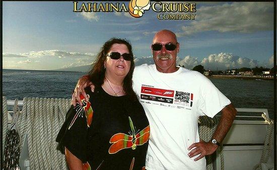 Lahaina Cruise Company : sunset cruise on maui princess..