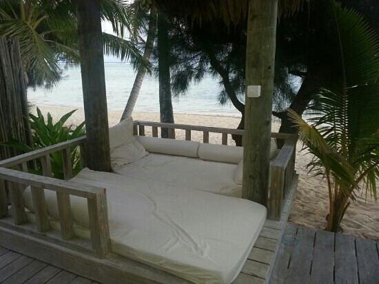 Little Polynesian Resort: View as you step out on the deck