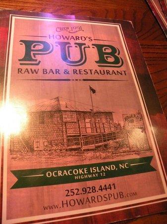 Howard's Pub: @ Howards