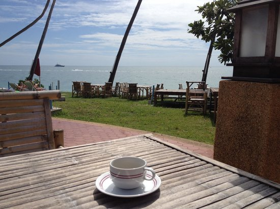 Thai Ayodhya Villas & Spa: Morning coffee
