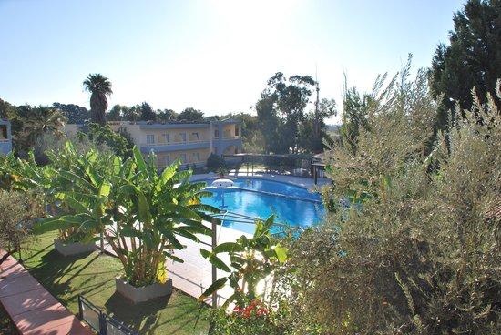 Golden Odyssey Kolimbia : vue de notre chambre n°132