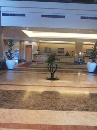 The Royale Bintang Resort & Spa Seremban: The lobby, wide and comfortable