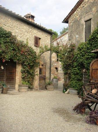 Fattoria San Donato: Der innere Hof von San Donato