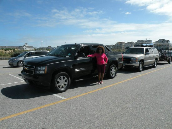 Ocracoke Island Visitor Center: in line