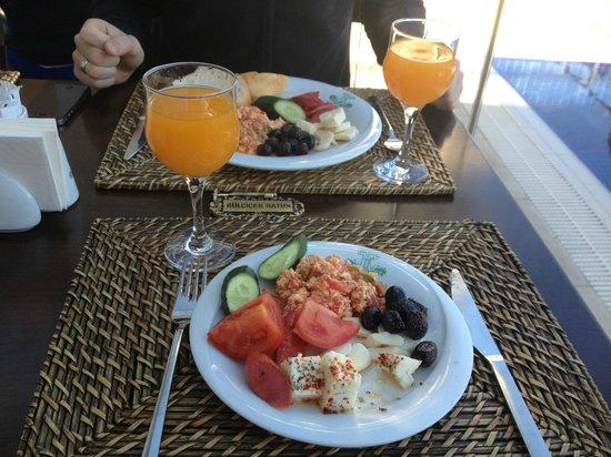 Hayriye Hanim Konagi Hotel : Наш завтрак
