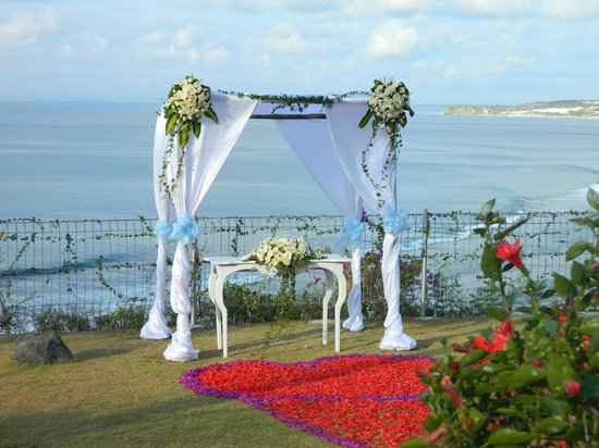 Uluwatu Cottages: wedding