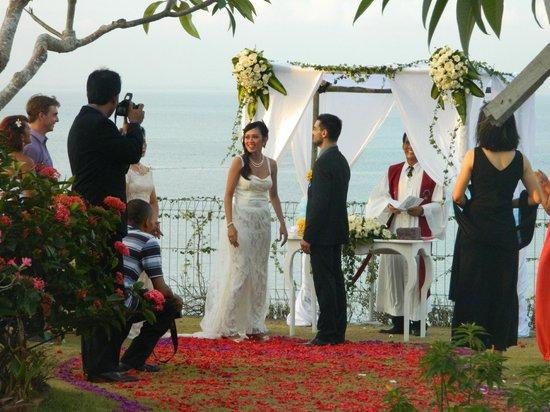 Uluwatu Cottages: wedding