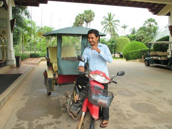 Angkor Palace Resort & Spa: Mr Sophai - No. 6 Tuktuk