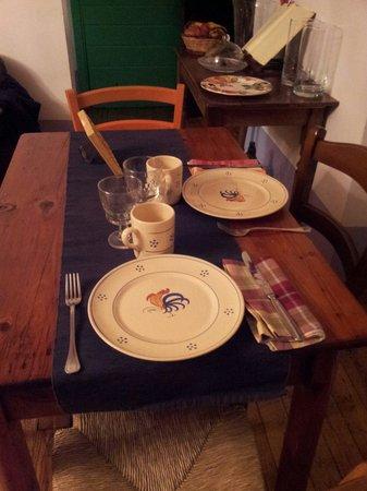 La Tana Dei Carbonari: Il nostro tavolo