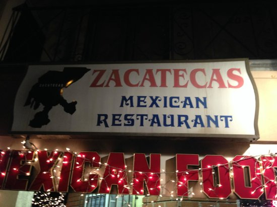 Zacatecas: Sign