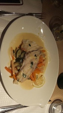 Le Pharaon : 魚料理