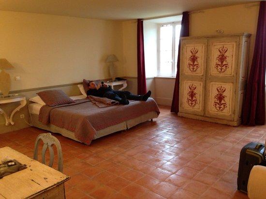 Chateau de Mazan : La chambre