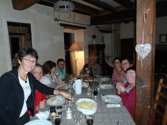 La Petite Richerie : La table d'amis