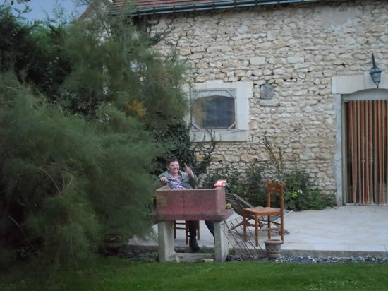 La Petite Richerie : la terrasse