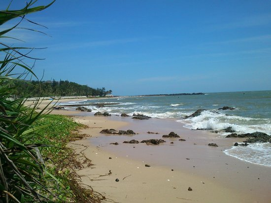 Villa Panda: private beach