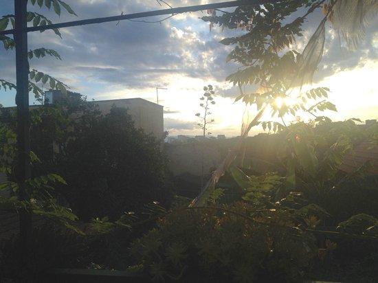 Abbraccia Morfeo: View of the sunrise from the balcony
