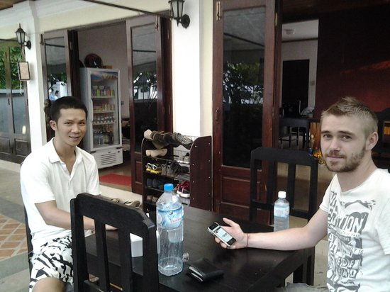 Global Guesthouse: Minh and myself on our last day!