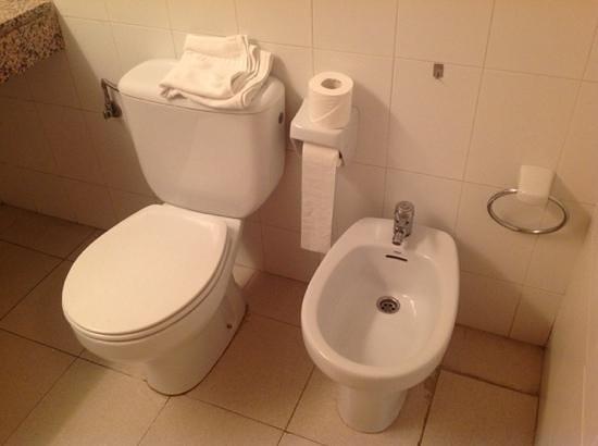 RV Hotel Condes Del Pallars: baño