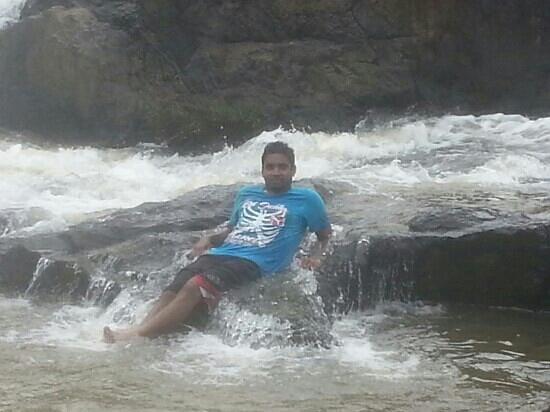 Aruvi Resorts : at the falls