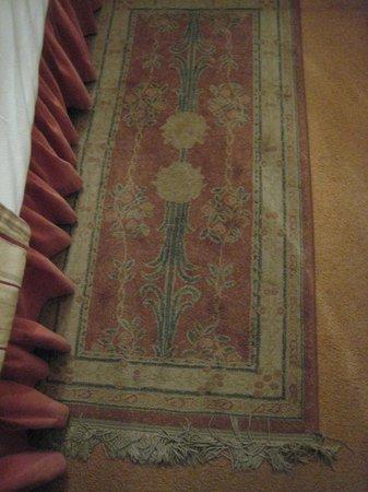 Hotel Dona Maria: carpettes et moquette à nettoyer ! indignes d'un 4**** !