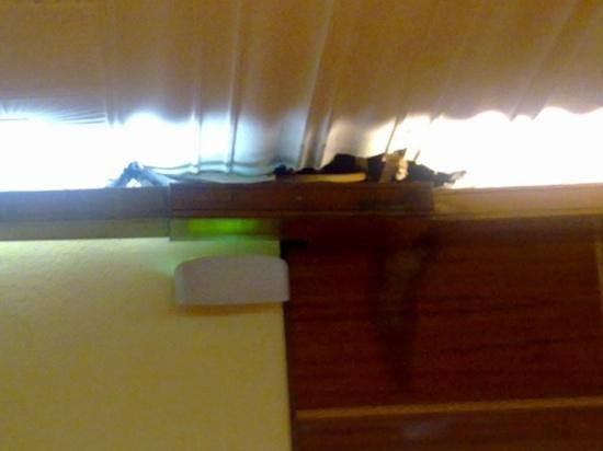 RV Hotel Condes Del Pallars: techo del restaurante