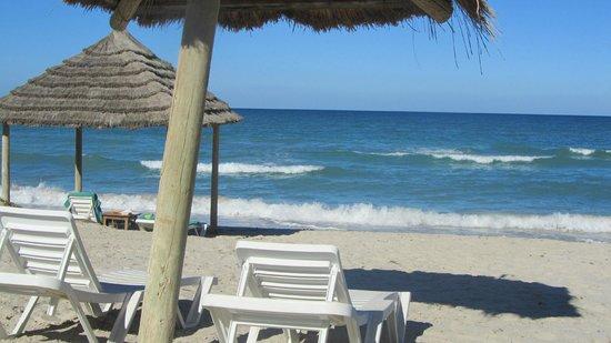 Hasdrubal Prestige Thalassa & Spa: La plage